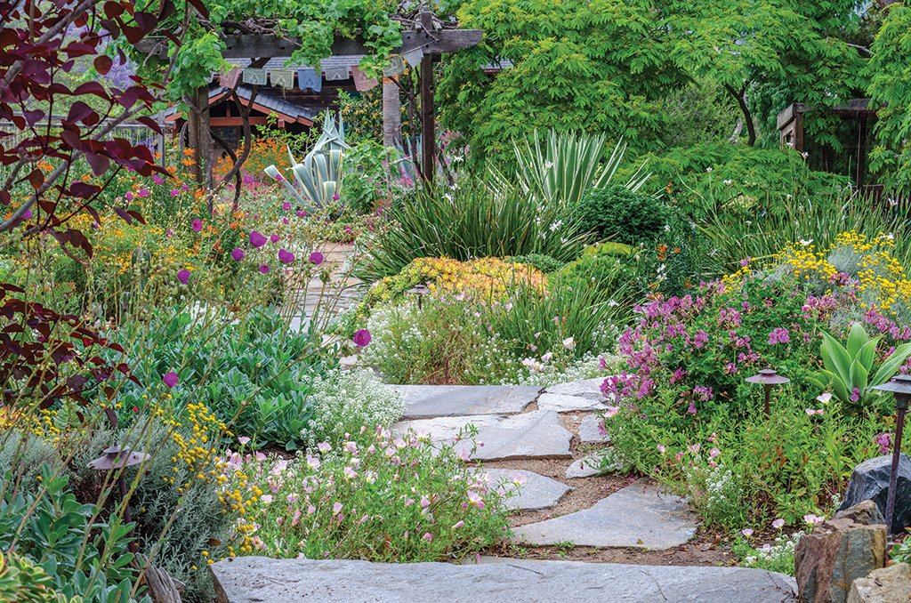 Incroyable As She Stands On A Weathered Deck Overlooking Her Terraced Landscape In  Encinitas, Ellen Speert Says, U201cNotice The Quiet.u201d On This Late Spring Day,  ...
