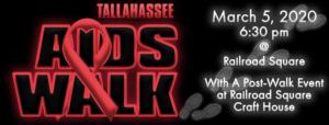 30th Tallahassee AIDS Walk @ Railroad Square        