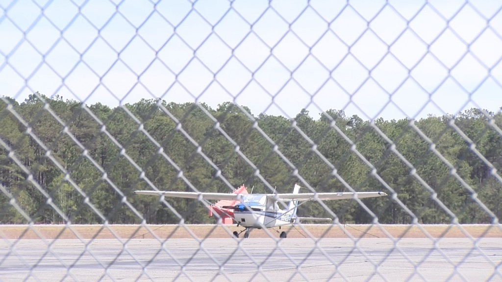 Airplane Moultrie Airport