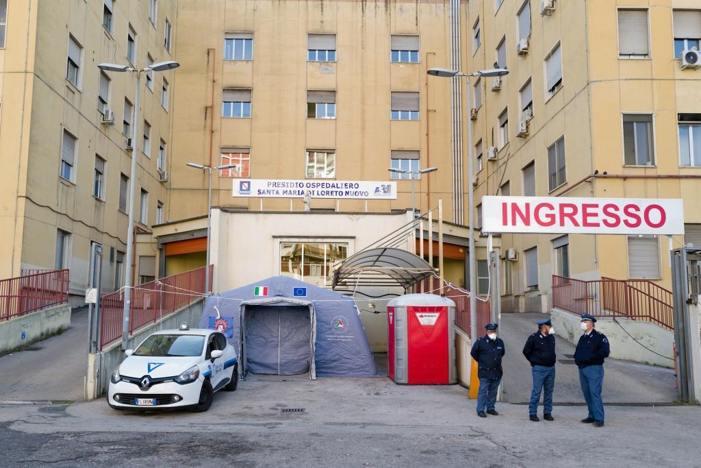 Coronavirus Emergency In Naples