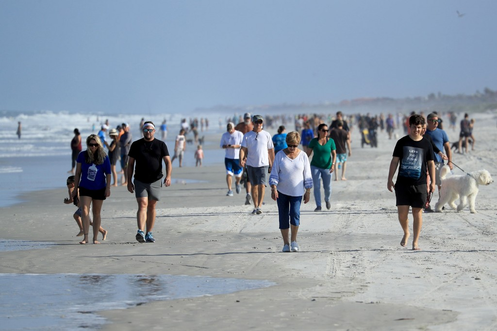 Jacksonville, Florida Re Opens Beaches After Decrease In Covid 19 Cases