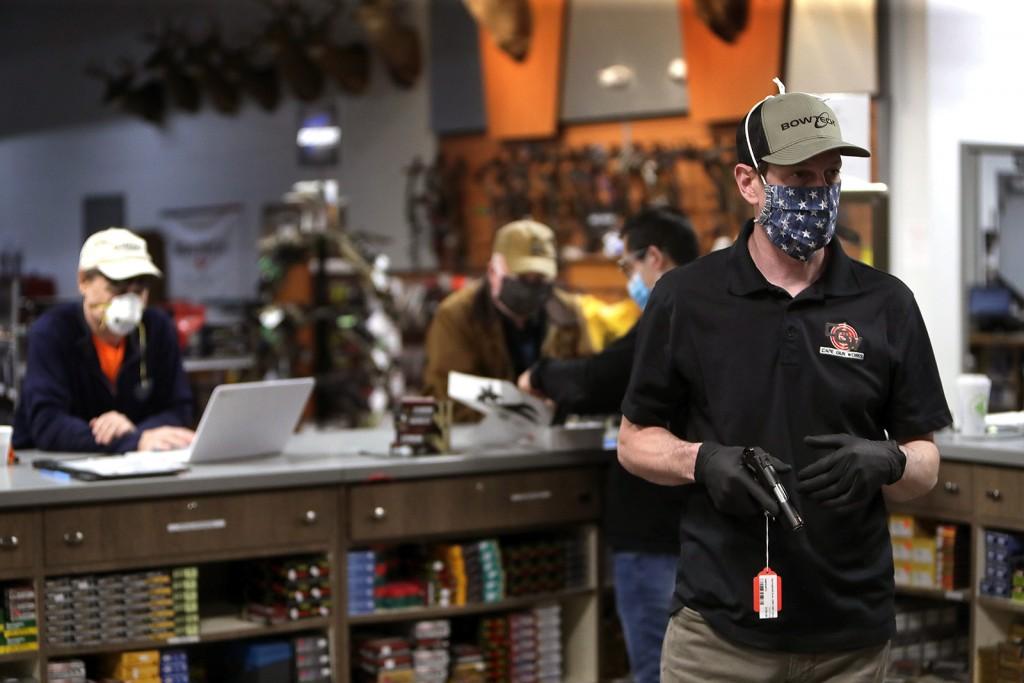 Gun Shops Allowed To Re Open