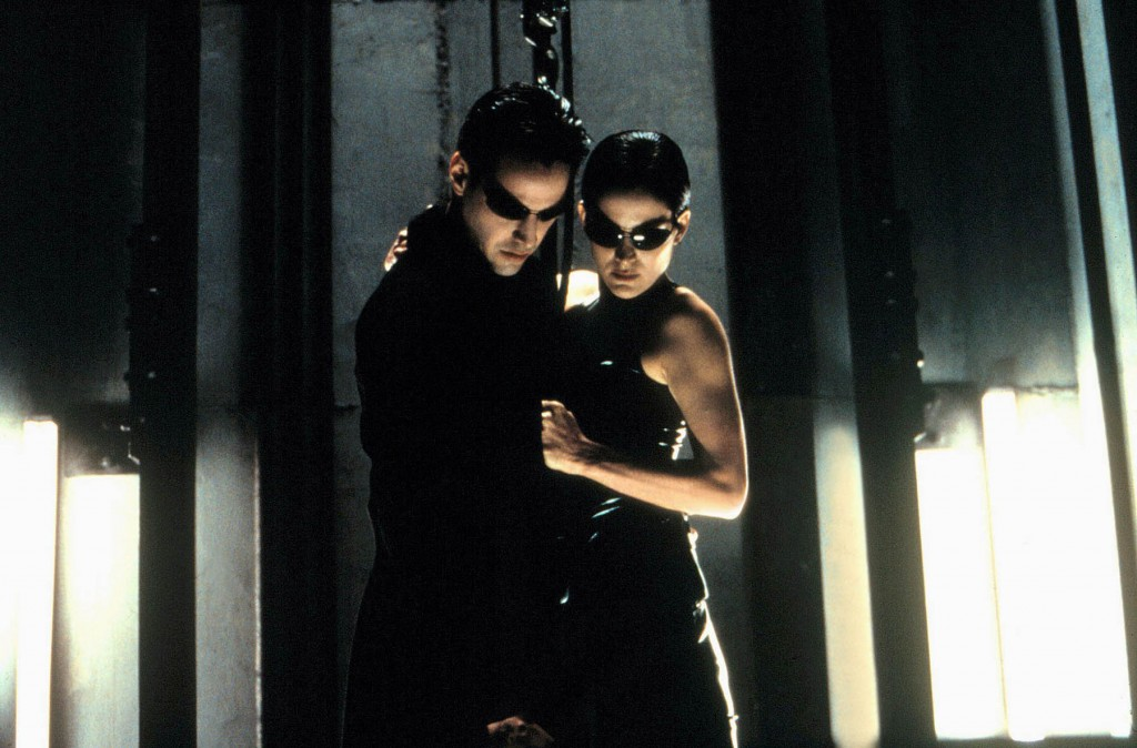 Keanu Reeves Carrie Anne Moss The Matrix (1999)