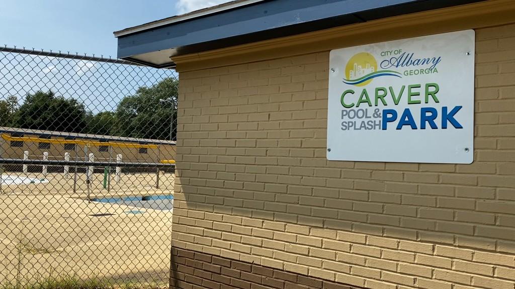 Carver Park Sign