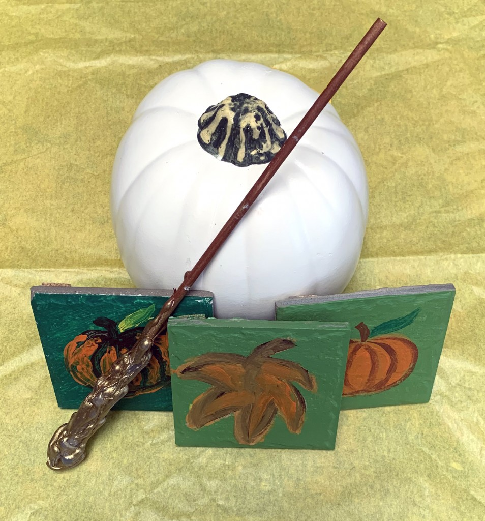 Wand And Pumpkin