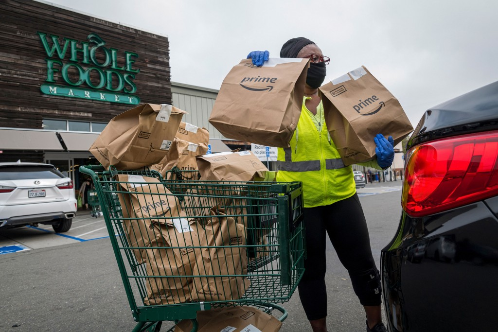 Whole Foods Is Left Behind In Amazon's Pandemic Fueled Boom