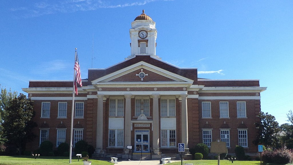 Lee County Courthouse Large