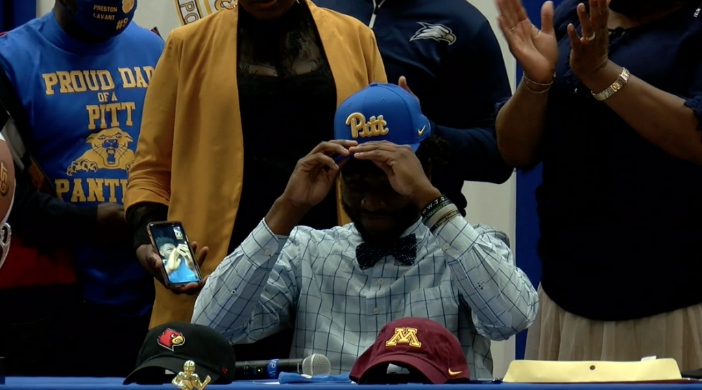 Four Crisp County Football Players Sign National Letters Of Intent