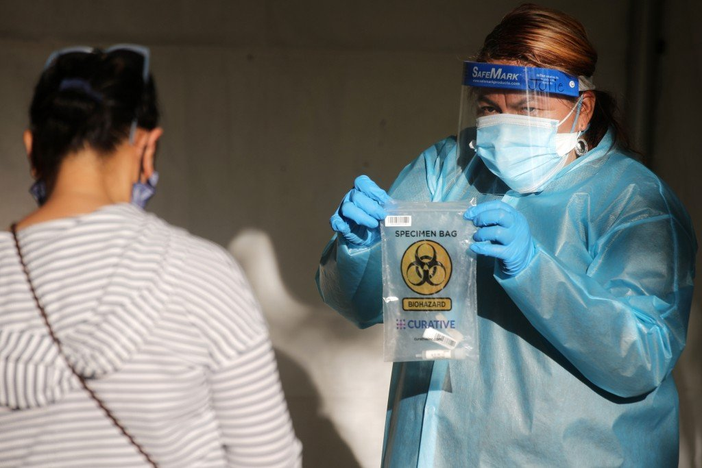 Amid Lockdown, Thousands Wait To Get Tested For Covid 19 In Los Angeles County