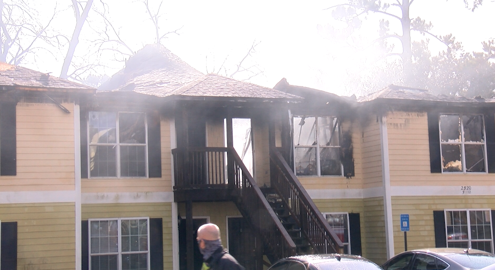 Neighbors React To North Albany Apartment Fire