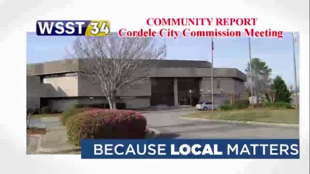 Community Report: Cordele City Commission Meeting (1.10.21)