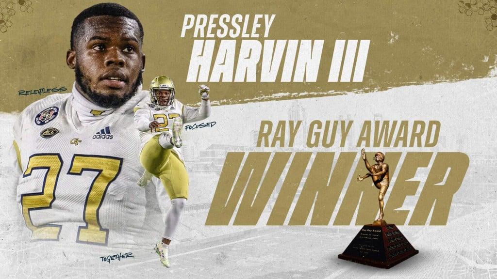 Harvin Pressley Ray Guy Award Winner 2020