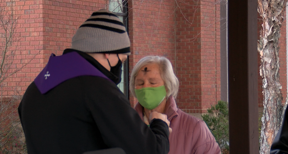Local Churches Adapt To Ash Wednesday Amid Covid 19 Pandemic