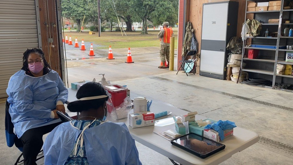 Low Turnout On Opening Day Of Gema Vaccination Site In Dougherty County Prompts Response From Local Leaders