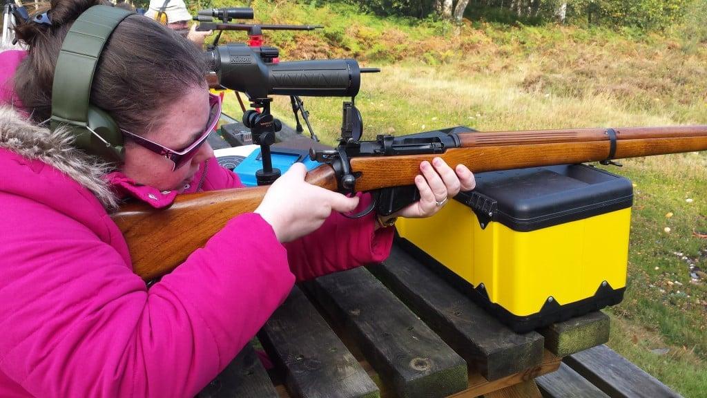 Firearm Woman