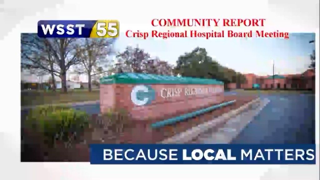 Crisp Regional Hospital Board Meeting