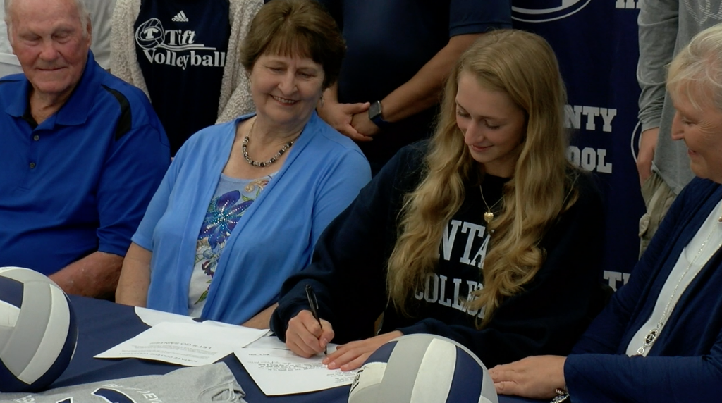 Tift County's Cali Conner Becomes First Female Blue Devil To Sign With A Collegiate Volleyball Program