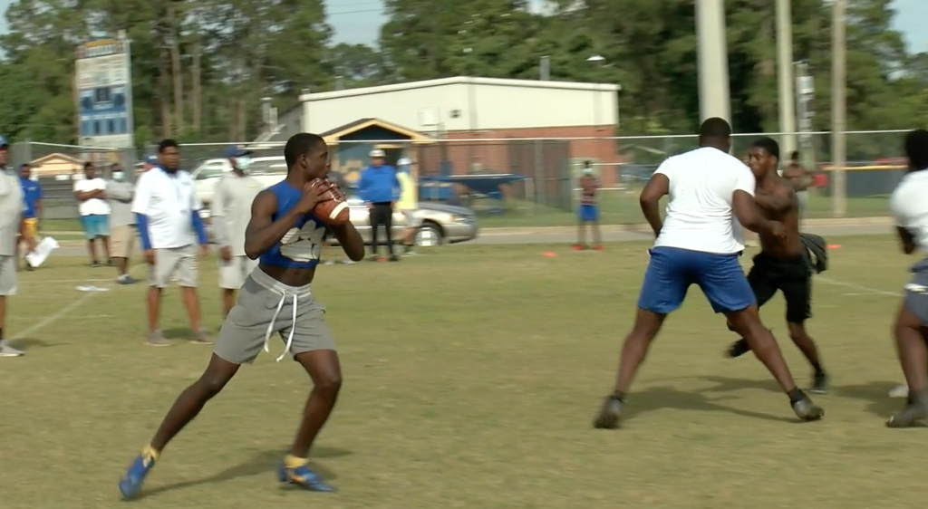 Crisp County Football Is Using Spring Ball As A Learning Tool