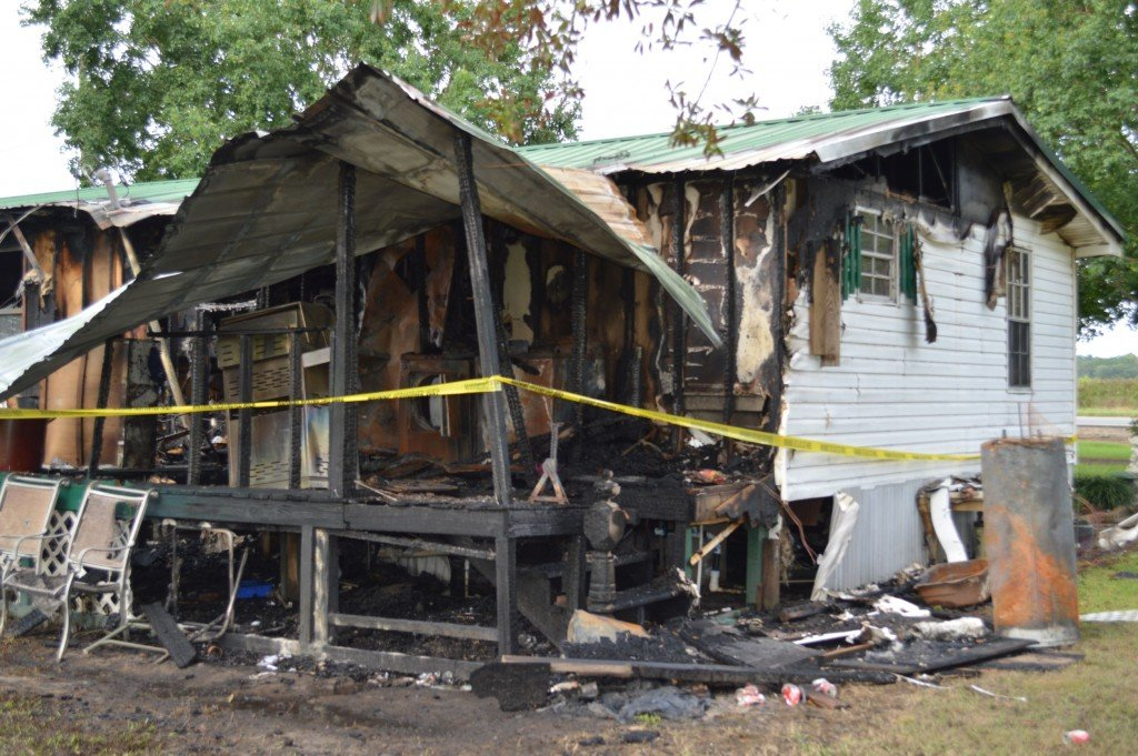 Coffee County Mobile Home Fire