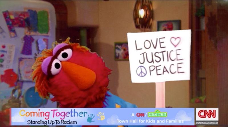 Sesame Street Cnn Racism
