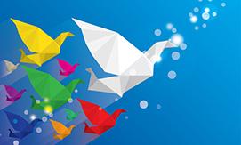Paper Cranes 38469845