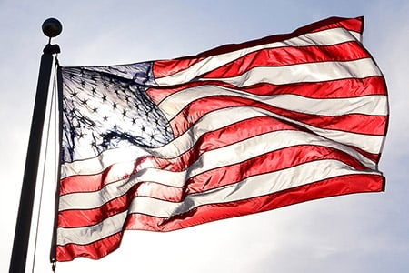 American Flag Ken Jones Flickr