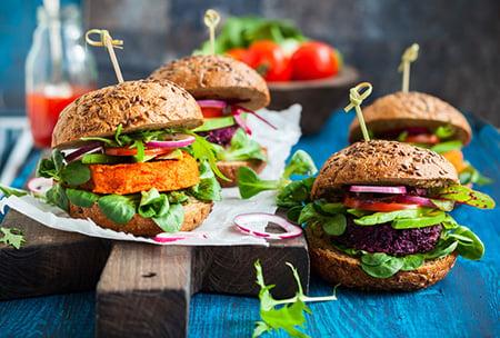 Veggie Burgers 40528034 S