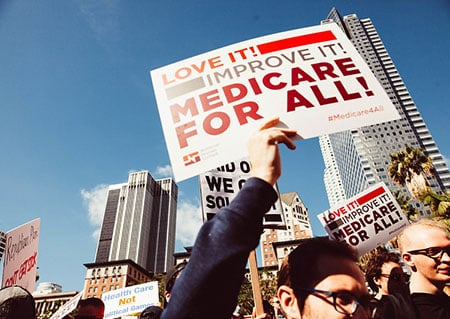 Medicare For All Rally Molly Adams Flickr Cc
