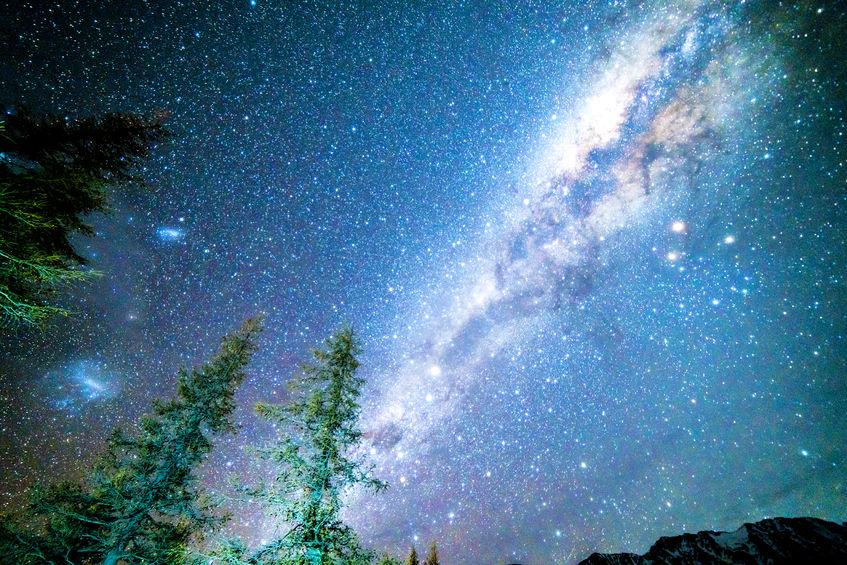 63812142 Milky Way From Glentanner Campsite, New Zealand.