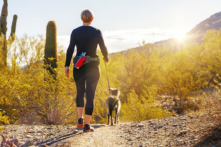 Hiking Woman Dog 99224021 S