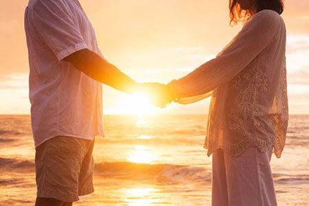 Couple Sunset 31332451 S