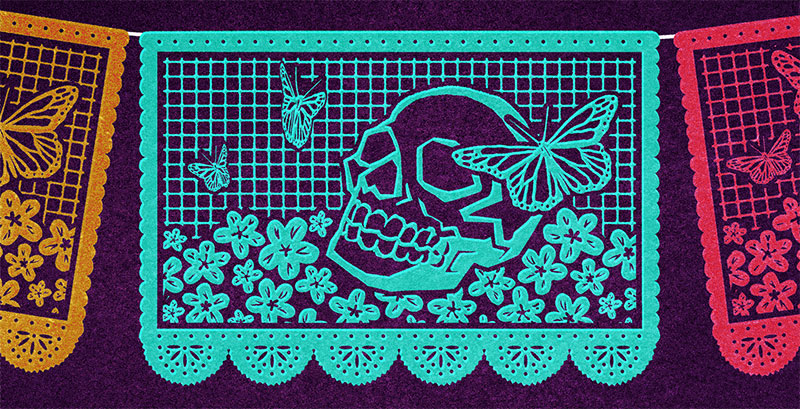 Skull Butterfly Yes Comic And Illustration By Jen Luxton