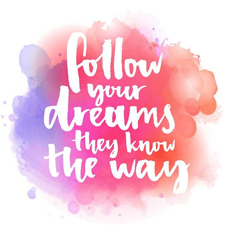 Follow Your Dreams 48604350 S