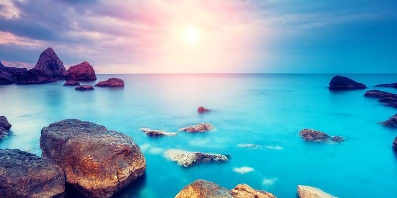 Ocean Sky Rocks 47565749 S