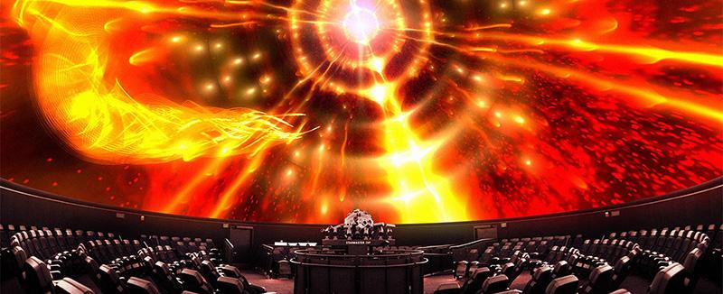 Planetarium The Drake Experience Slide