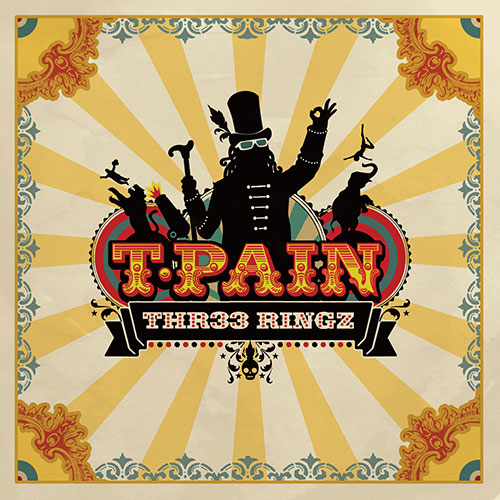 "The cover of his third album, ""Thr33 Ringz,"" which debuted in 2008 on the top of Billboard's Top R&B/Hip Hop Album chart. It would go on to become a gold record and be nominated for a Grammy Award. Album cover courtesy Chase Entertainment"