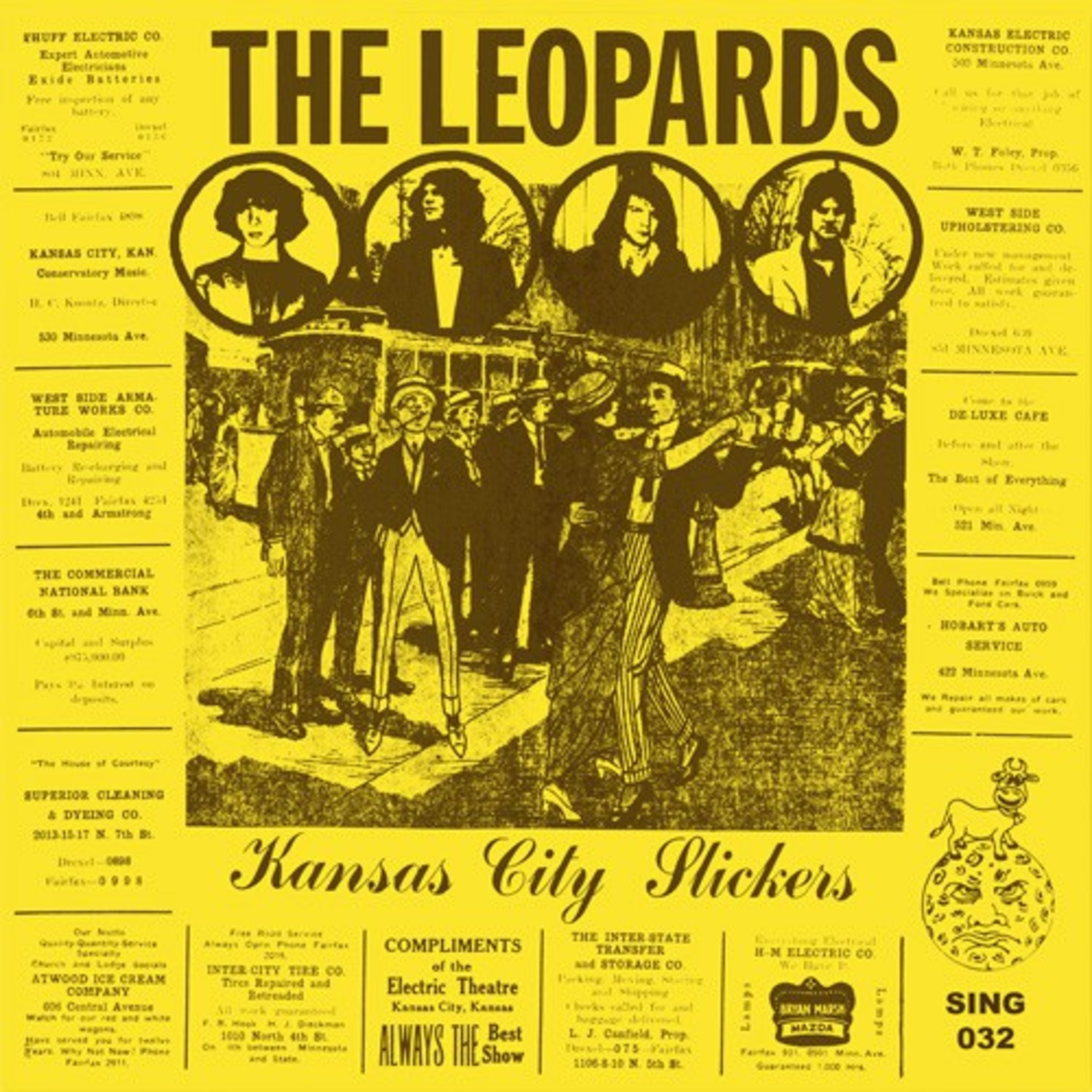 Sing Sing Records Reissues The Leopards Lost Classic Kansas City Slickers
