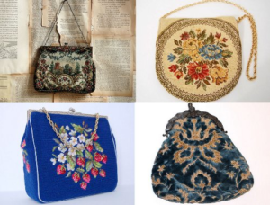 The Necessities of Life! Create a 1920's Evening Bag, Beginner's Class in Needlepoint @ The Studio |  |  |