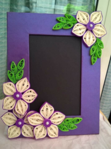 Picture Frame Paper Quilling @ New Element        
