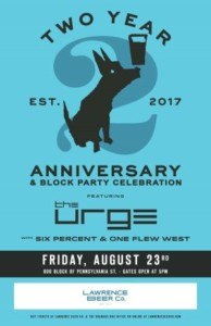 LBC 2 Year Anniversary Block Party ft. The Urge @ Granada | Lawrence | Kansas | United States