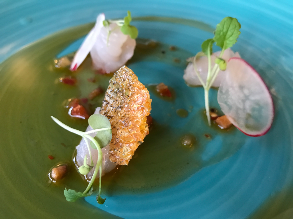 A photo of The walleye crudo from Freshwater