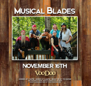 Bladesgiving 2019 w/ Musical Blades and Pictus @ VooDoo Lounge at Harrah's North Kansas City | Kansas City | Missouri | United States