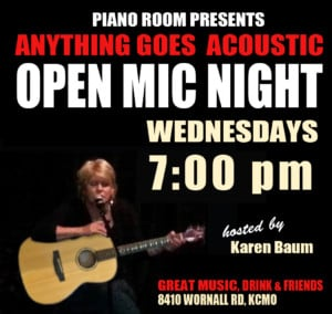 Wednesday Night Open Mic at The Piano Room @ Piano Room | Kansas City | Missouri | United States