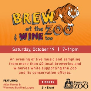 Brew at the Zoo & Wine Too @ Kansas City Zoo