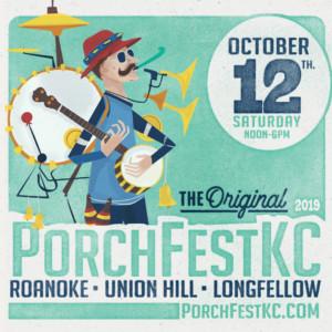 PorchFestKC @ Roanoke, Union Hill and Longfellow neighborhoods