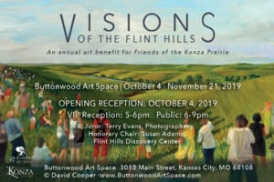 11th Annual Visions of the Flint Hills First Friday @ Buttonwood Art Space   Kansas City   Missouri   United States