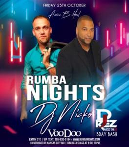 Rumba Nights @ VooDoo Lounge inside Harrah's Casino | Kansas City | Missouri | United States