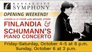 Finlandia & Schumann's Piano Concerto @ Helzberg Hall at Kauffman Center | Kansas City | Missouri | United States