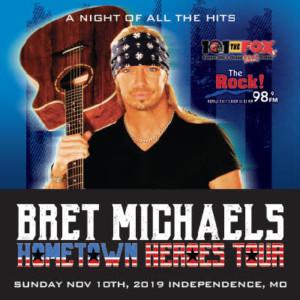 Bret Michaels @ Silverstein Eye Centers Arena | Independence | Missouri | United States