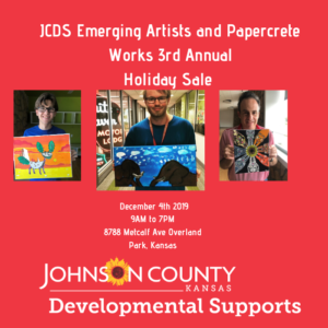 JCDS Emerging Artists and Papercrete Works 3rd Annual Holiday Sale @ Arts & Heritage Center | Overland Park | Kansas | United States